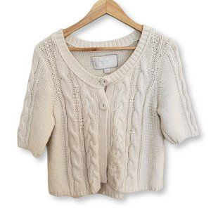 American Eagle Cropped Cardigan Knit